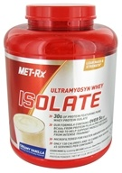 MET-Rx - Ultramyosyn Whey Isolate Creamy Vanilla - 5 lbs. LUCKY PRICE - $59.99