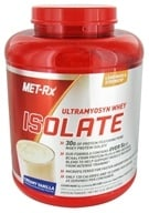 MET-Rx - Ultramyosyn Whey Isolate Creamy Vanilla - 5 lbs. LUCKY PRICE