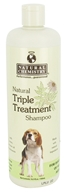 Natural Chemistry - Natural Triple Treatment Shampoo For Dogs - 16.9 oz. (717108111025)