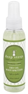 Deep Steep - Dry Oil Body Spritzer Rosemary-Mint - 4 oz. - $8.79