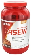 MET-Rx - 100% Micellar Casein Chocolate - 2 lbs., from category: Sports Nutrition