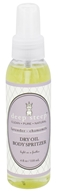 Deep Steep - Dry Oil Body Spritzer Lavender-Chamomile - 4 oz.