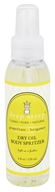 Deep Steep - Dry Oil Body Spritzer Grapefruit-Bergamot - 4 oz. - $8.79
