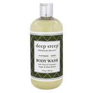Deep Steep - Body Wash Rosemary-Mint - 8 oz. (674749041824)