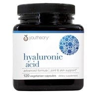 Youtheory - Hyaluronic Acid Advanced Formula - 120 Tablets (853244003234)