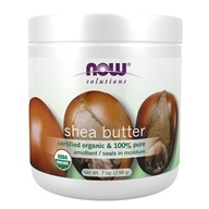 NOW Foods - Organic Shea Butter - 7 oz.