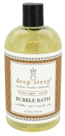 Deep Steep - Bubble Bath Brown Sugar-Vanilla - 17.5 oz., from category: Personal Care