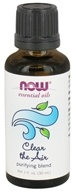 NOW Foods - Clear the Air Essential Oil Blend - 1 oz.