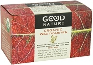Good Nature Tea - Organic Tea Caffeine Free Wild Thyme - 20 Tea Bags by Good Nature Tea