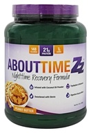 About Time - Zz Nightime Casein Recovery Formula Peanut Butter - 2 lbs. (837654125656)