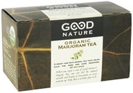 Good Nature Tea - Organic Tea Caffeine Free Marjoram - 20 Tea Bags by Good Nature Tea
