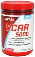 MET-Rx - BCAA 5000 Branched Chain Amino Acid Powder Watermelon - 300 Grams by MET-Rx