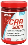 MET-Rx - BCAA 5000 Branched Chain Amino Acid Powder Watermelon - 300 Grams (786560522007)