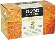 Image of Good Nature Tea - Organic Tea Caffeine Free St. John's Wort - 20 Tea Bags
