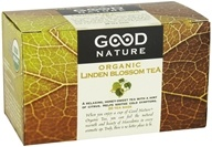 Image of Good Nature Tea - Organic Tea Caffeine Free Linden Blossom - 20 Tea Bags