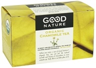 Good Nature Tea - Organic Tea Caffeine Free Chamomile - 20 Tea Bags