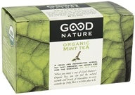 Image of Good Nature Tea - Organic Tea Caffeine Free Mint - 20 Tea Bags