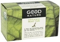 Good Nature Tea - Organic Tea Caffeine Free Mint - 20 Tea Bags - $3.99