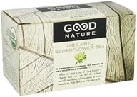 Image of Good Nature Tea - Organic Tea Caffeine Free Elderflower - 20 Tea Bags