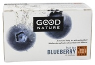 Good Nature Tea - Fruit Delight Tea Caffeine Free Blueberry - 20 Tea Bags by Good Nature Tea