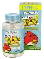 Natrol - Angry Birds Kid's Vitamin Chews - 180 Chewable Tablets by Natrol