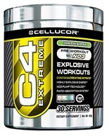 Image of Cellucor - C4 Extreme Pre-Workout with NO3 Green Apple 30 Servings - 180 Grams