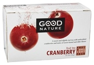 Good Nature Tea - Fruit Delight Tea Caffeine Free Cranberry - 20 Tea Bags by Good Nature Tea