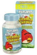 Natrol - Angry Birds Kid's Vitamin Chews - 90 Chewable Tablets (047469068226)