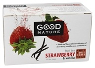 Good Nature Tea - Fruit Delight Tea Caffeine Free Strawberry & Vanilla - 20 Tea Bags by Good Nature Tea