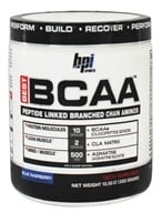 BPI Sports - Best BCAA Peptide Linked Branched Chain Aminos Blue Raspberry - 10.58 oz.