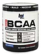 BPI Sports - Best BCAA Peptide Linked Branched Chain Aminos Blue Raspberry - 10.58 oz. (851780006320)