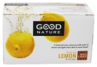 Good Nature Tea - Fruit Delight Tea Caffeine Free Lemon - 20 Tea Bags