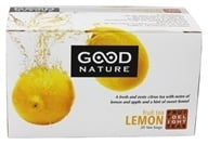 Good Nature Tea - Fruit Delight Tea Caffeine Free Lemon - 20 Tea Bags by Good Nature Tea