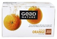Good Nature Tea - Fruit Delight Tea Caffeine Free Orange - 20 Tea Bags