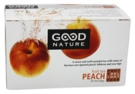 Good Nature Tea - Fruit Delight Tea Caffeine Free Peach - 20 Tea Bags