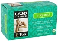 Good Nature Tea - Organic beTea b.Rested - 20 Tea Bags by Good Nature Tea