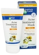 Earth's Care - Acne Treatment Mask Sulfur 5% - 2.5 oz.
