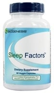 Image of BioGenesis Nutraceuticals - Sleep Factors - 60 Vegetarian Capsules