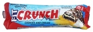 Chef Robert Irvine FortiFX - Fit Crunch Protein Bar Cookies and Cream - 88 Grams, from category: Sports Nutrition