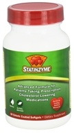 Statinzyme - Advanced Formula - 60 Enteric Coated Softgels by Statinzyme