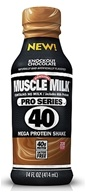 Cytosport - Muscle Milk Pro Series 40 RTD Mega Protein Shake Knockout Chocolate - 14 oz. by Cytosport