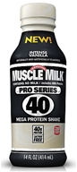 Cytosport - Muscle Milk Pro Series 40 RTD Mega Protein Shake Intense Vanilla - 14 oz. by Cytosport