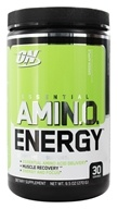 Optimum Nutrition - Essential Amino Energy 30 Servings Green Apple - 0.6 lbs. (748927051704)