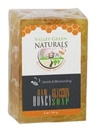 Valley Green Naturals - Raw Honey & Glycerin Bar Soap - 5 oz. by Valley Green Naturals