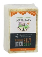 Valley Green Naturals - DermaSens Oatmeal & Himalayan Salt Blend Bar Soap - 5 oz. by Valley Green Naturals