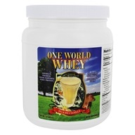 One World Whey - Premium Grass Pastured Whey Protein Delicious Vanilla - 1 lb.