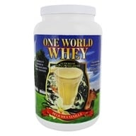 One World Whey - Protein Power Food Nature's Vanilla - 5 lb.