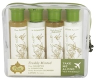 Pura Botanica - Take Me Along Travel Kit Freshly Minted - 4 Piece(s)