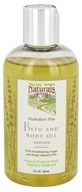Valley Green Naturals - Hydration Plus Bath & Body Oil Lavender - 8 oz. (091037280619)
