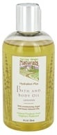 Image of Valley Green Naturals - Hydration Plus Bath & Body Oil Lavender - 8 oz.